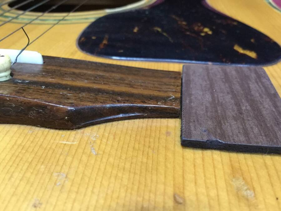 TOMSON トムソン GW-380 アコースティックギター シリアルNo.50908★現状品_画像6