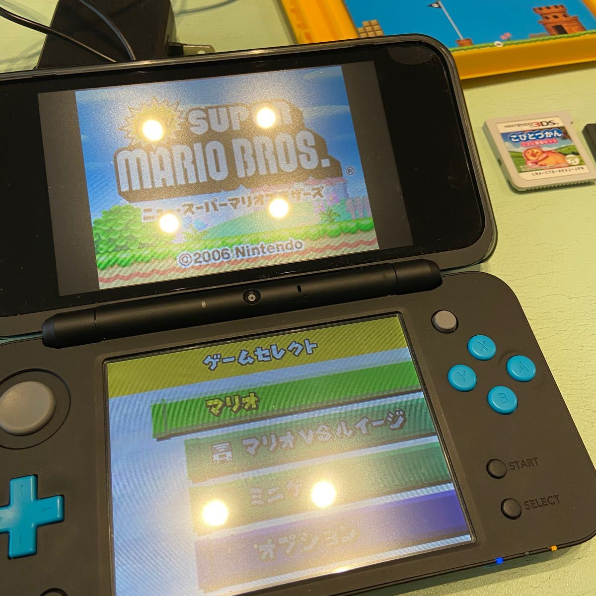 New ニンテンドー2DS LL  本体 マリオ ドラクエ こびとづかん 3DS ソフト 任天堂 Nintendo