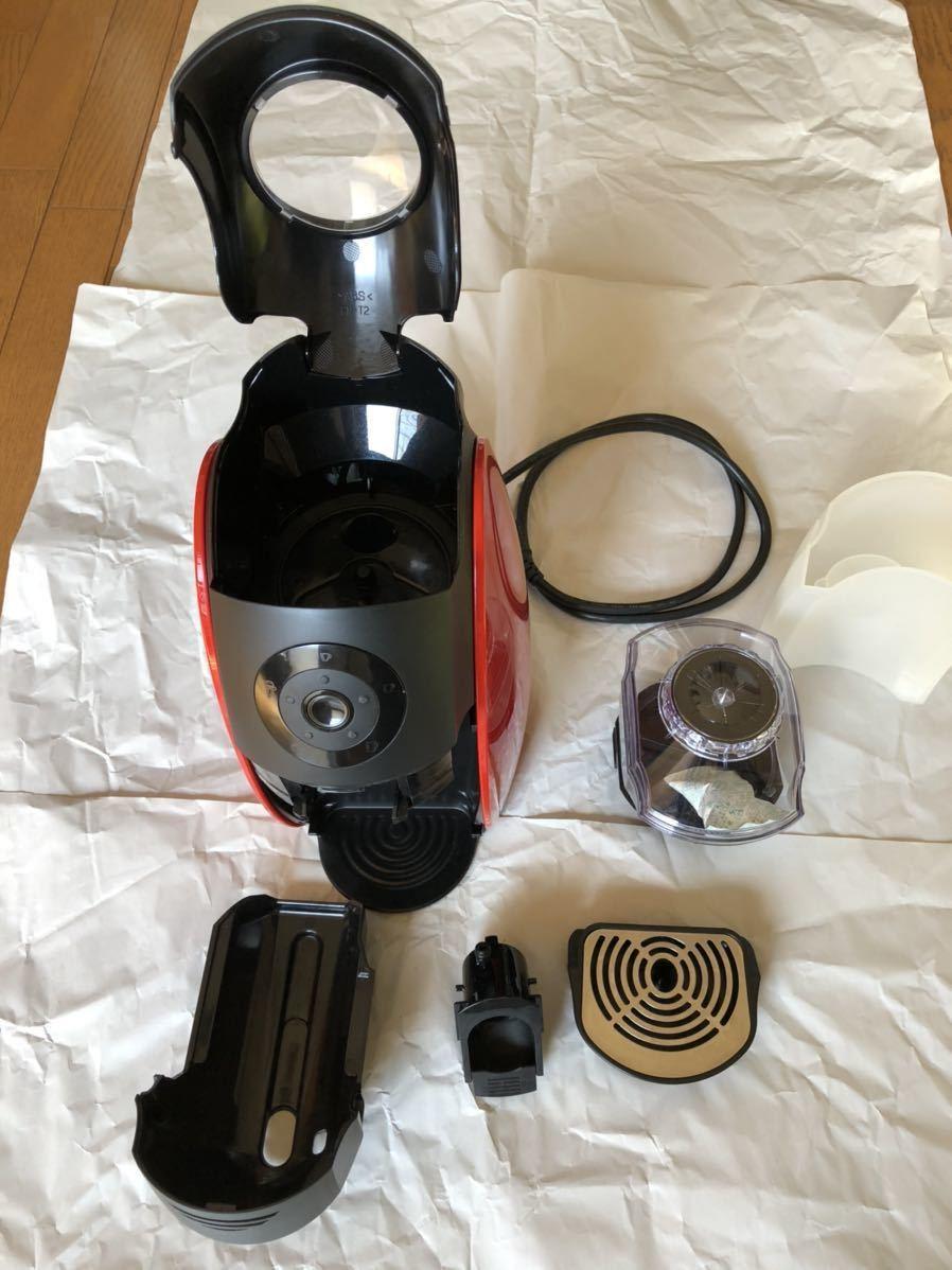 ネスカフェバリスタ PM9630 コーヒーメーカー レッド ゴールドブレンド ネスカフェ 付属品一式あり/ 未使用クリアマグ付き