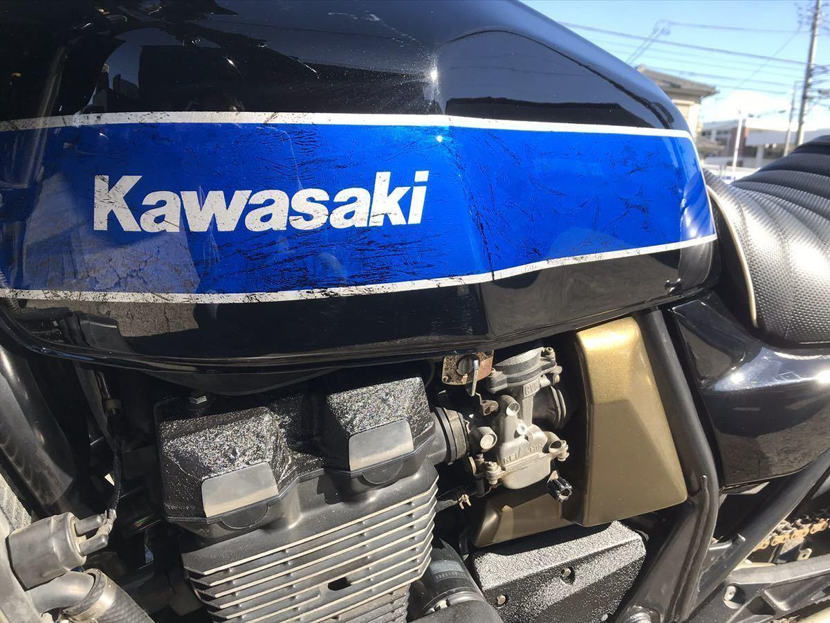 「kawasaki ZRX 400 カスタム車両 女性必見」の画像2