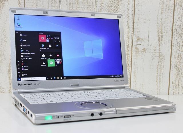 1円スタート Panasonic レッツノート CF-NX4 Windows10Pro Core i3 2.1GHz メモリ4GB HDD320GB カスタマイズ可 無線LAN Bluetooth 12.1