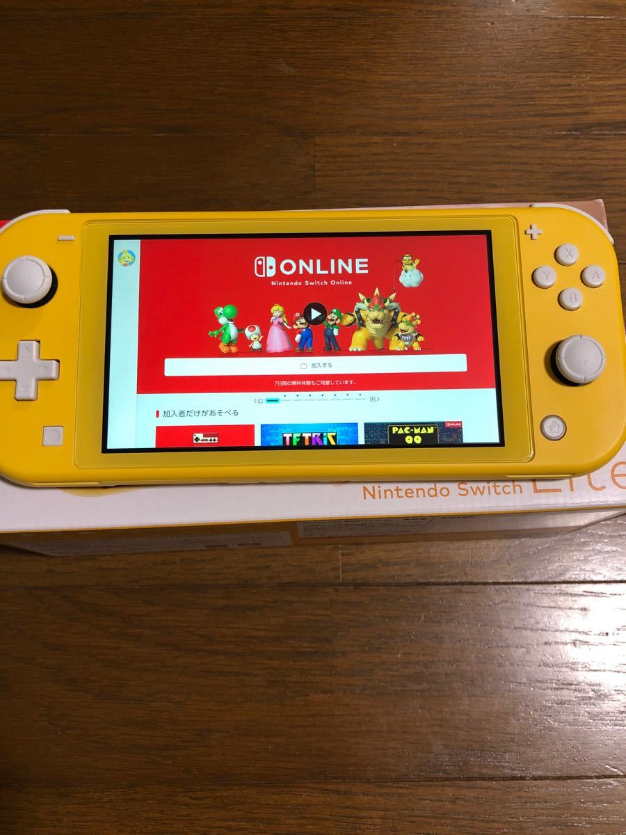Nintendo Switch Lite ニンテンドースイッチ ライト イエロー