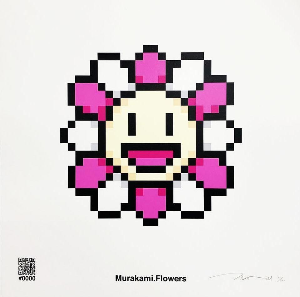 100枚限定 村上隆 版画 Murakami.Flower #0000 kai kai kiki カイカイキキ Tonari no Zingaro トナリノジンガロ ED100 新作 限定_画像1