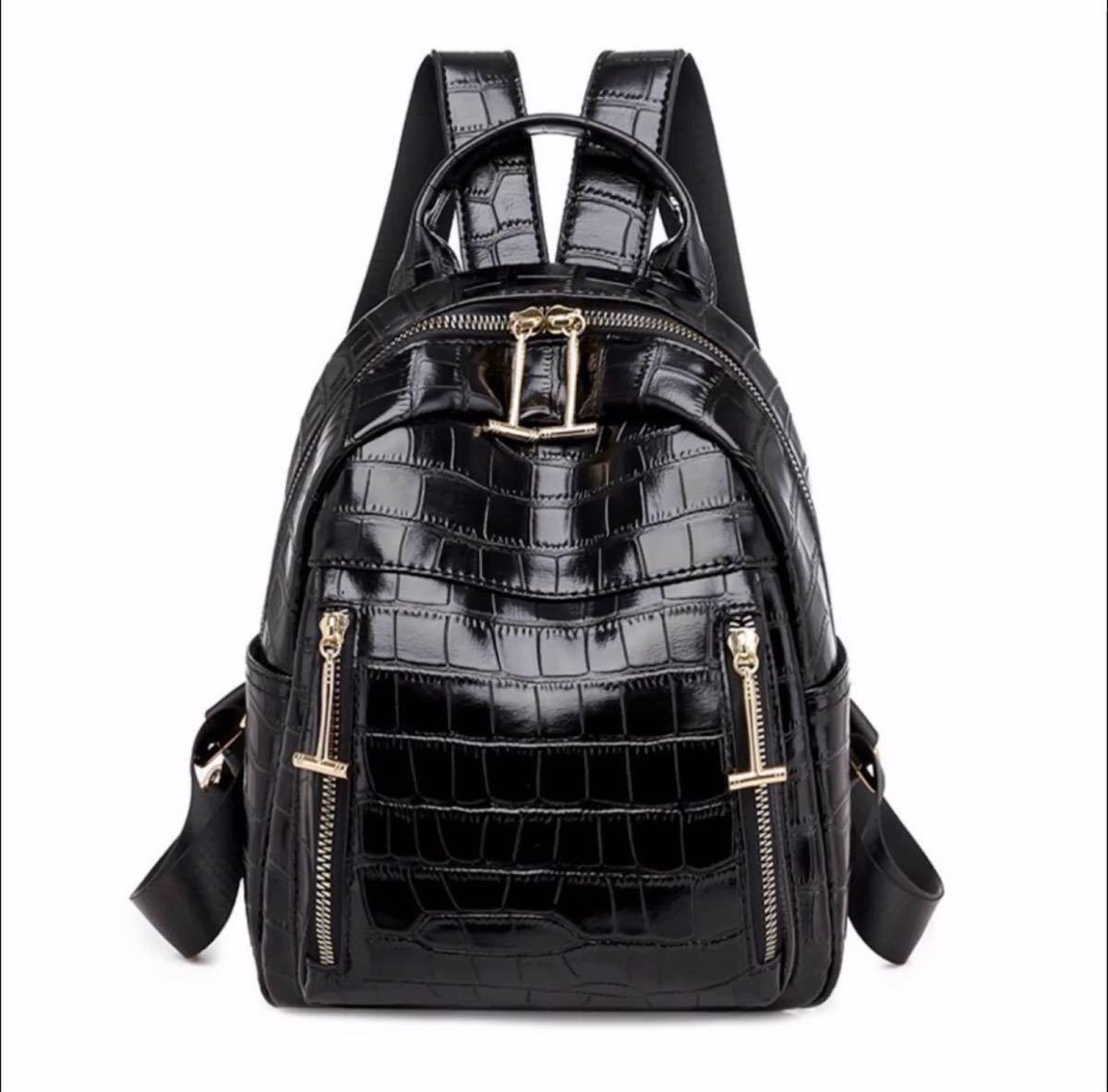 リュックサック レディースバッグ バックパック 高品質 大容量 ブラック