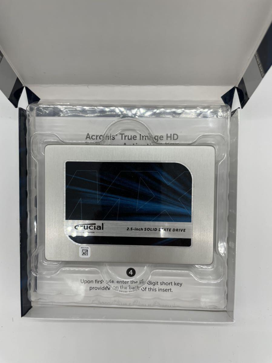 Crucial SSD MX200 500GB MLC(使用時間683H)