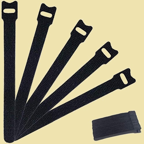 新品 未使用 結束バンド MOCOBO 6-85 繰り返し利用可能 環境に良い 60本セット 黒 15cm ケ-ブル収納 コ-ドまとめる 強力_画像1