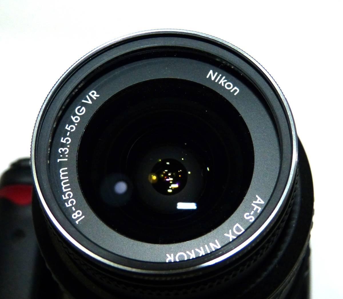 デジタルカメラ ニコン中古一眼レフ 動作確認済 Nikon D5000  純正 ズームレンズ キット18-55mm 1230画素 4GSDHC 純正バッテリー_画像4
