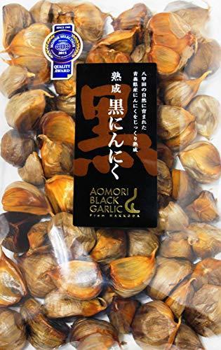 【最高品質 モンドセレクション受賞】青森県産熟成 無添加 黒にんにく 500g(約2.5ヵ月分)/グローバルGAP認証取得 _画像1