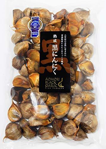 【最高品質 モンドセレクション受賞】青森県産熟成 無添加 黒にんにく 500g(約2.5ヵ月分)/グローバルGAP認証取得 _画像3