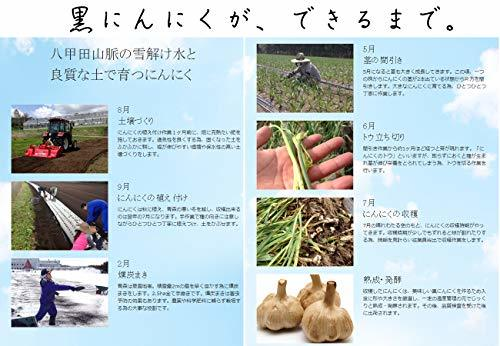 【最高品質 モンドセレクション受賞】青森県産熟成 無添加 黒にんにく 500g(約2.5ヵ月分)/グローバルGAP認証取得 _画像5