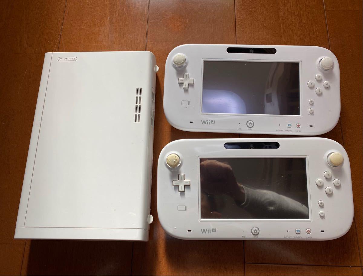 任天堂WiiU ジャンク本体8G ゲームパッド2台