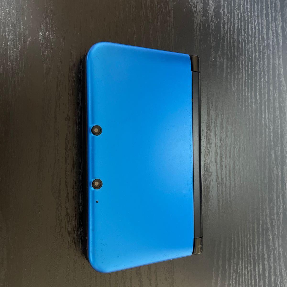 ニンテンドー3DS LL ブルーSDカード 充電器