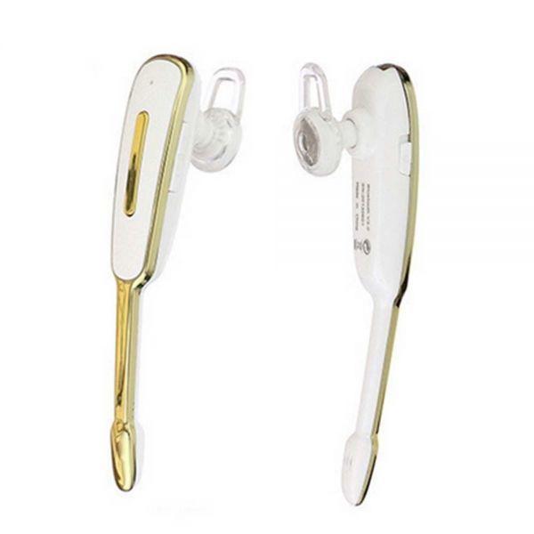ヘッドセット Bluetooth マイク付きイヤホン ブルートゥース 耳掛け式 イヤホン 高音質 片耳 ワイヤレス ゴールド_画像6