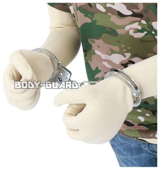 ハンドカフ(手錠) シングルロック シルバー_画像5