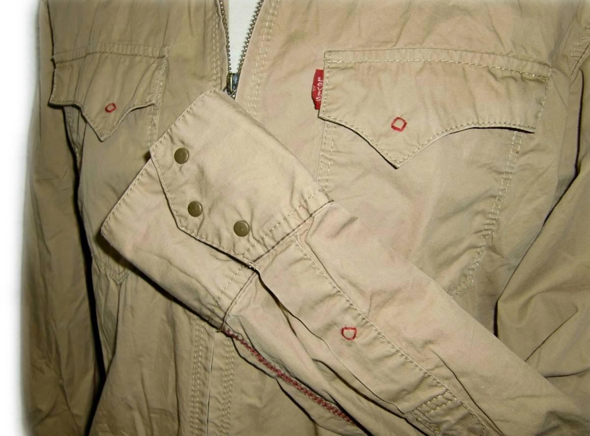 Levi's 【ジップウエスタンシャツ】 M / 60714 【2-1】 PREMIUM RED TAB / 送料¥198_画像9