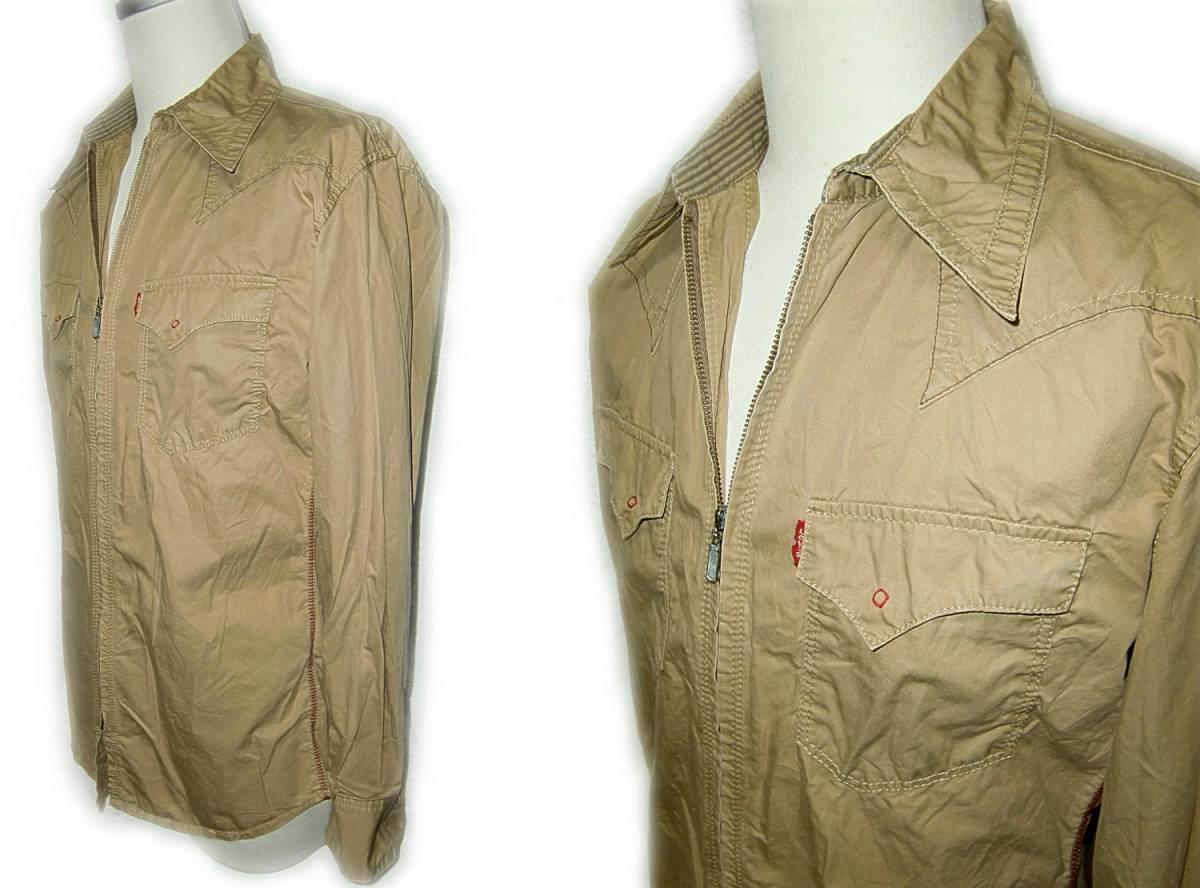 Levi's 【ジップウエスタンシャツ】 M / 60714 【2-1】 PREMIUM RED TAB / 送料¥198_画像4