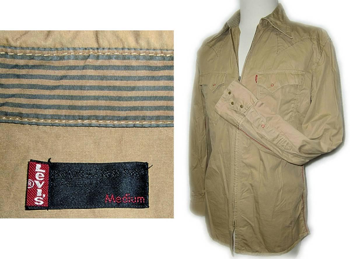 Levi's 【ジップウエスタンシャツ】 M / 60714 【2-1】 PREMIUM RED TAB / 送料¥198_画像5
