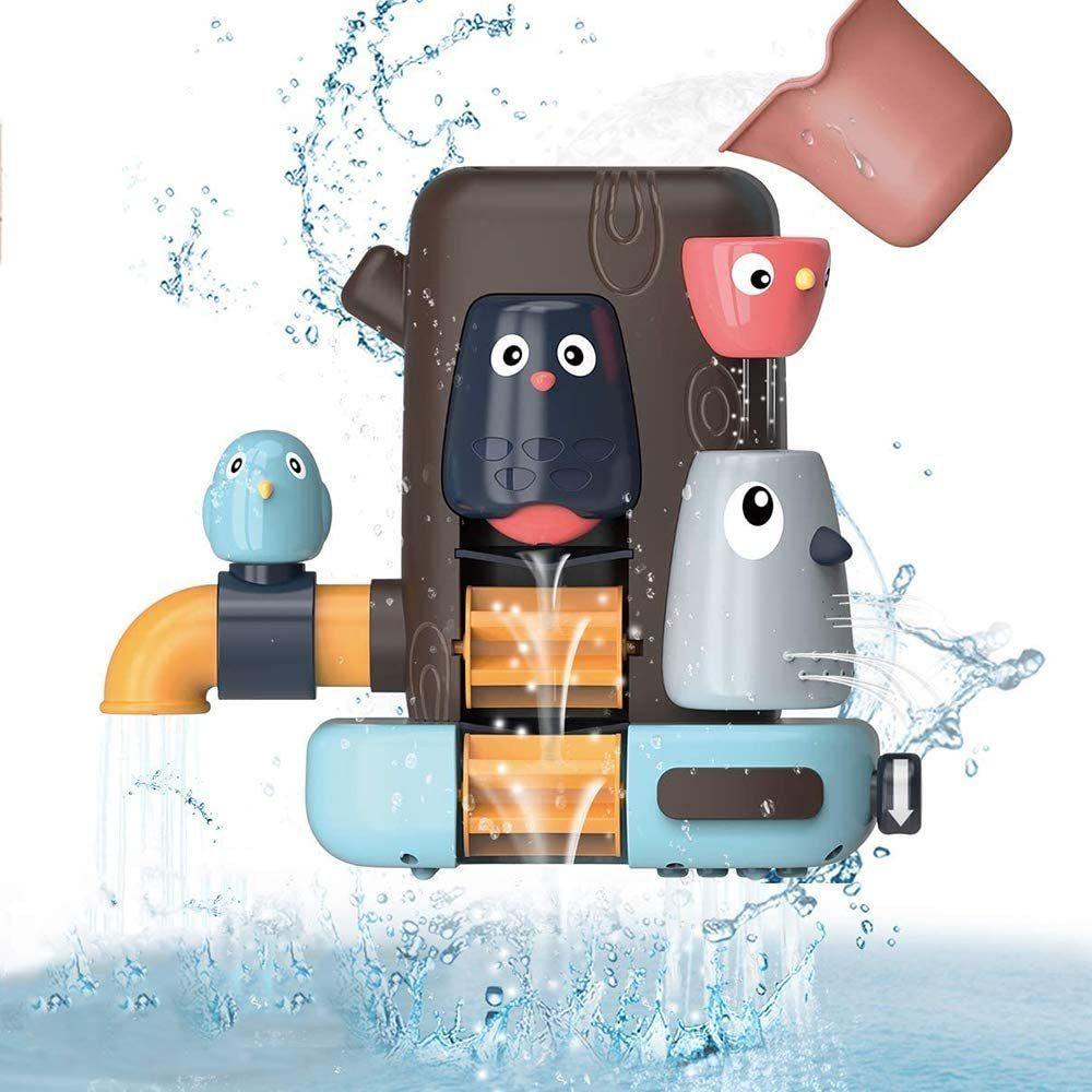 お風呂 おもちゃ 水遊び お風呂玩具 女の子 男の子 キッズ かわいい動物 水スプレー シャワーカップ 水を注ぐ 幼児 _画像3
