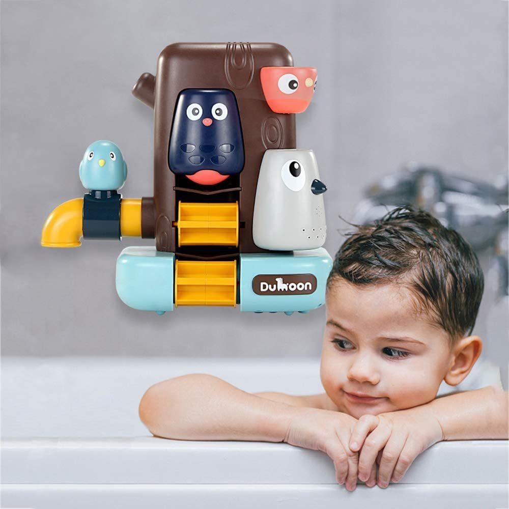 お風呂 おもちゃ 水遊び お風呂玩具 女の子 男の子 キッズ かわいい動物 水スプレー シャワーカップ 水を注ぐ 幼児 _画像2