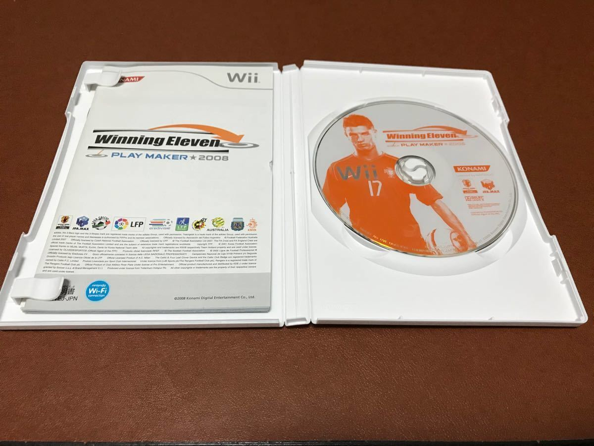 wiiソフト ウイニングイレブン プレーメーカー 2008 Wii