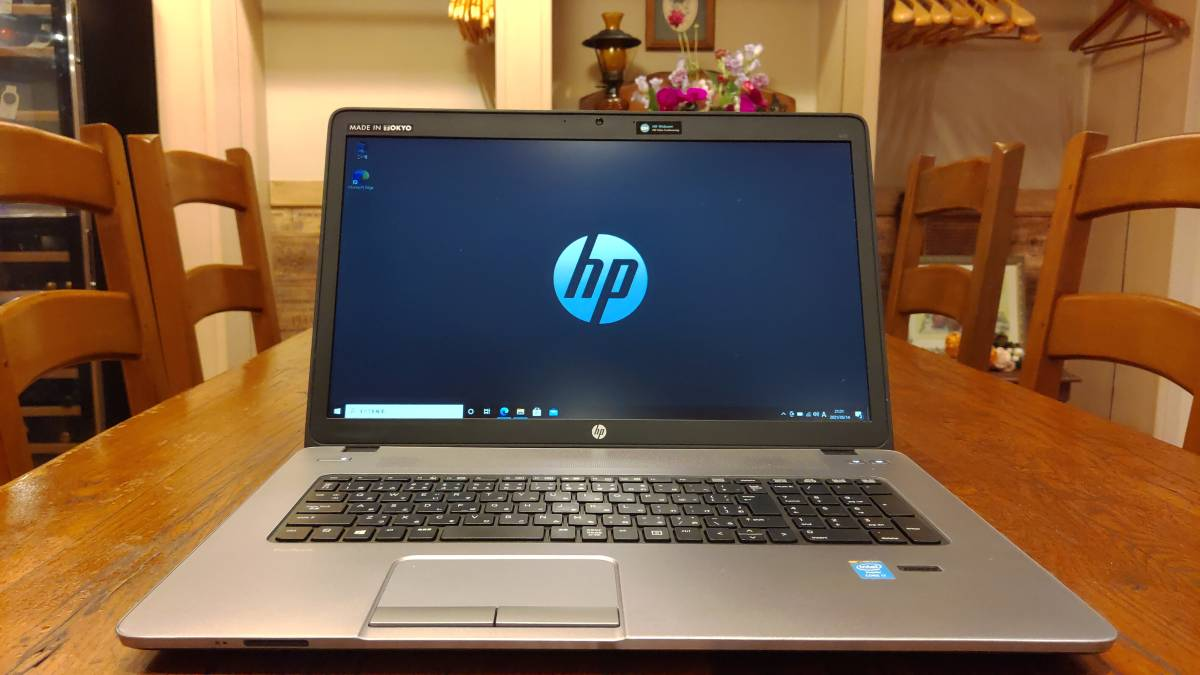 上位モデル 高速SSD 大画面17.3 HP ProBook 470 G1 Core i7-4702MQ 8G 新品SSD480GB AMD Radeon HD8750M office2019