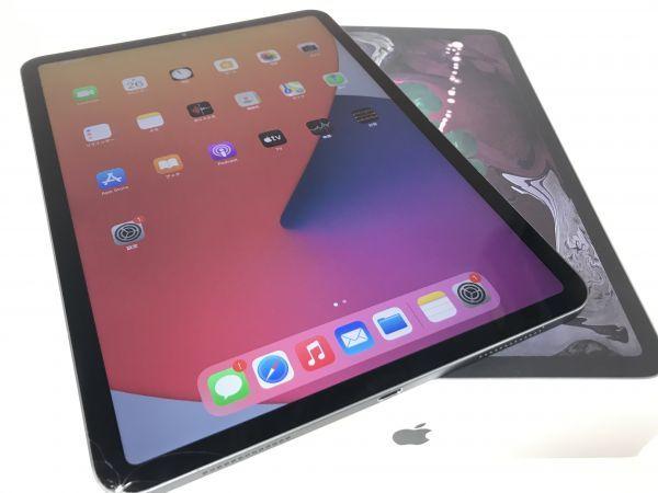 θ【Cランク】Apple iPad Pro 11インチ(第1世代)Wi-Fiモデル 256GB スペースグレイ MTXQ2J/A 箱 ACアダプタあり S84834258442