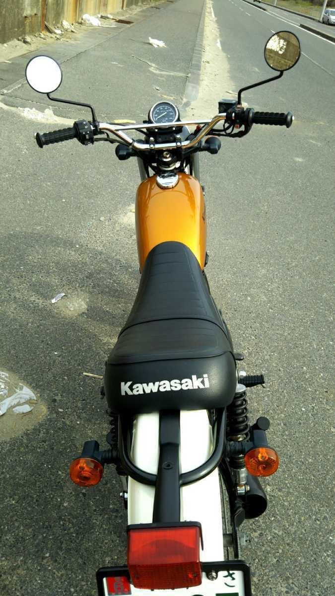カワサキ 250TR キャブレター車 _画像9