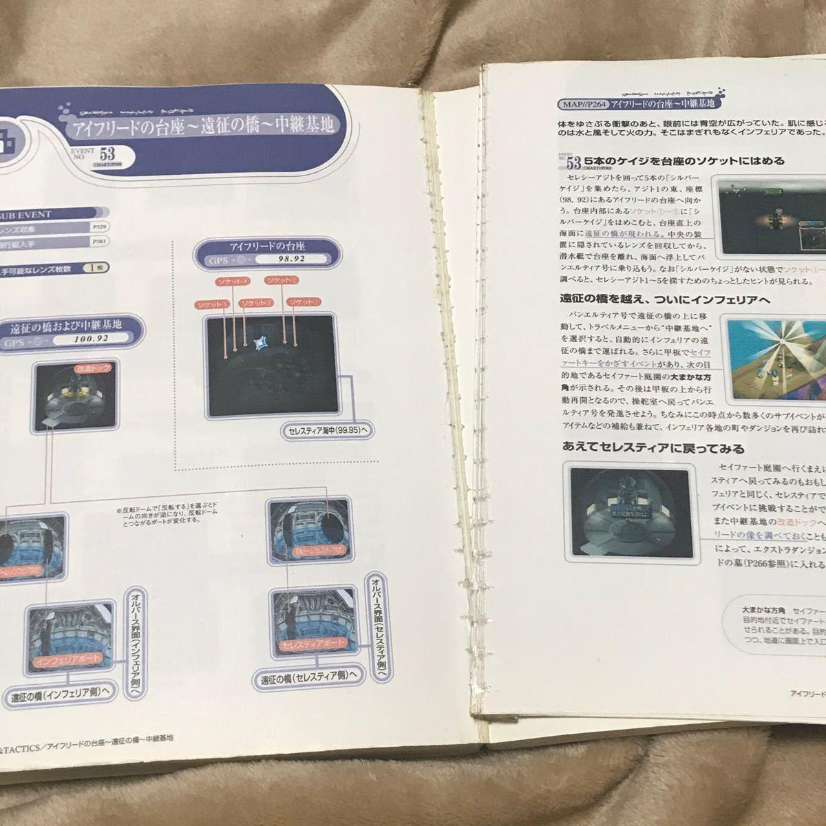 PS攻略本セット テイルズオブデスティニー オフィシャルガイドブック/ テイルズオブエターニア オフィシャルガイドブック