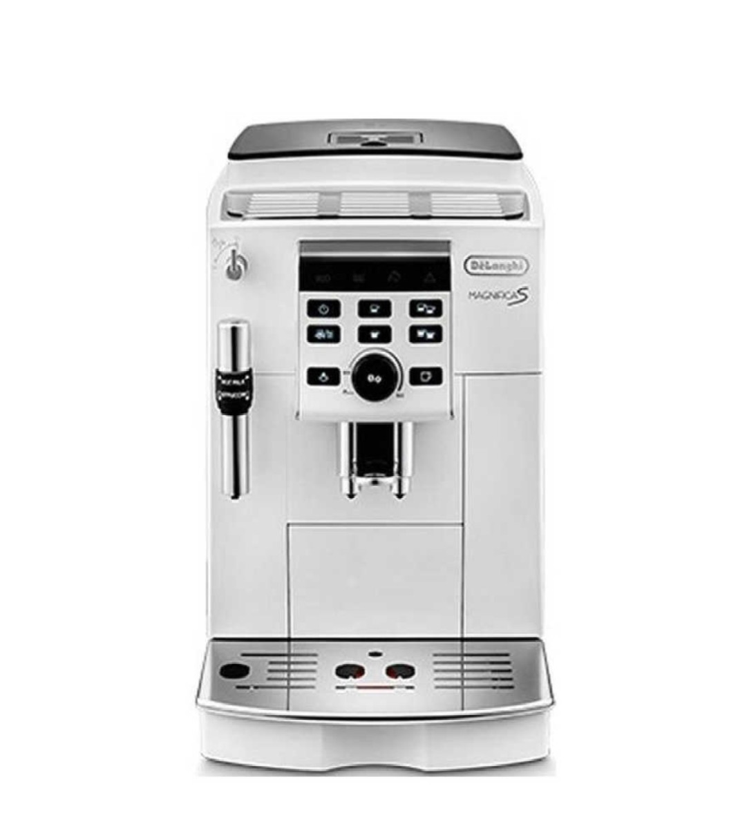 デロンギ 全自動コーヒーマシン マグニフィカS ホワイト ECAM23120WN DeLonghi