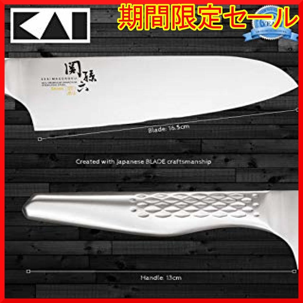三徳包丁 165mm 165mm 貝印 KAI 三徳包丁 関孫六 匠創 165mm 日本製 AB5156_画像2