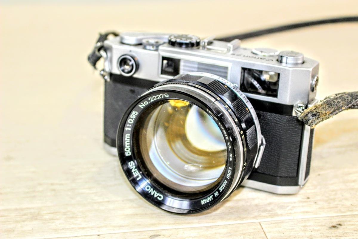 No.4817【ジャンク】CANON キャノン CANON7S レンジファインダー最終型 フィルムカメラ カバー付