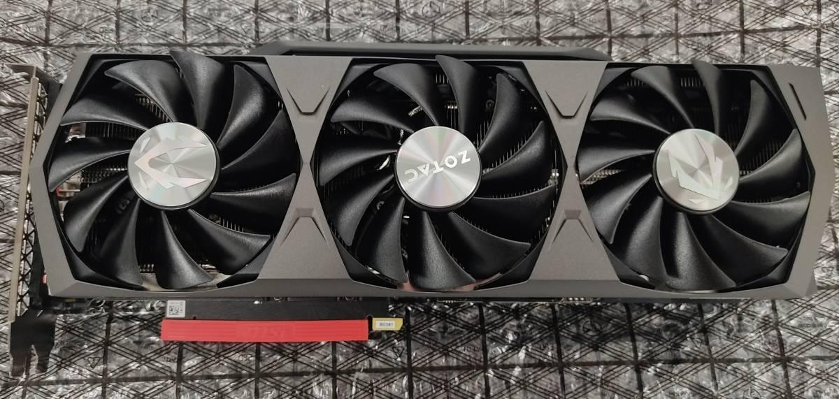 【VBIOS更新済み】ZOTAC GAMING GeForce RTX 3080 Trinity 本体のみ
