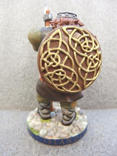 0510034a【SOLARFILMA SUNFILM 置物】Brian Pikington/アイスランド/人形/樹脂製/H13.7cm/中古品_画像7