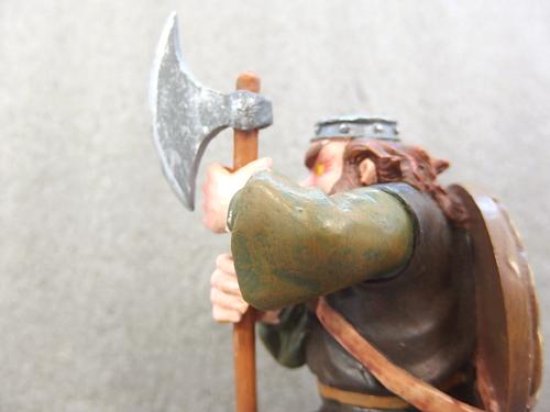 0510034a【SOLARFILMA SUNFILM 置物】Brian Pikington/アイスランド/人形/樹脂製/H13.7cm/中古品_画像9