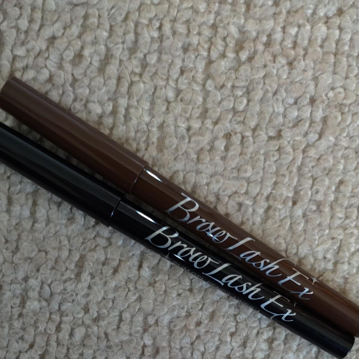 ブロウラッシュEX スリム ジェルペンシル 濃縮ブラウン/濃縮ブラック  アイライナー