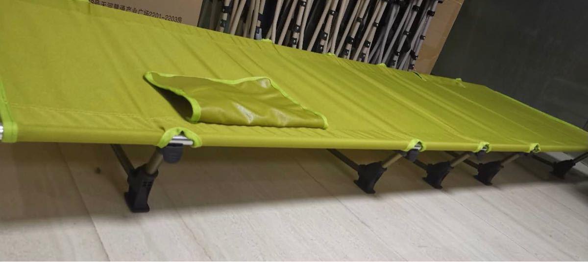 簡単組立て ★新品★ アウトドア用簡易ベッド ローコット ★キャンプ・普段用にも◎