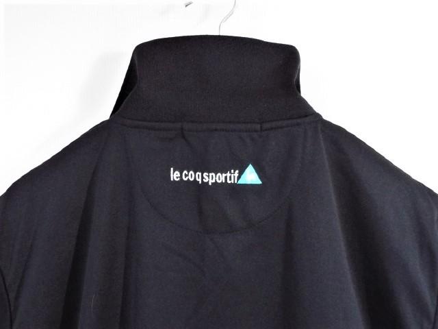 ★美品★ルコックゴルフ Le coq sportif Golf / LCS ロゴ カラフルプリント ポロシャツ 吸水速乾・UV / サイズL_画像3