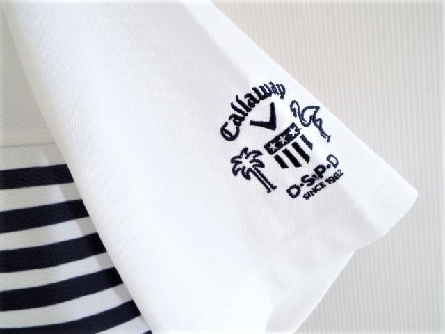 ★超美品★Callaway キャロウェイ / DSPD ボーダー プルオーバー シャツ DRY / サイズLL _画像2