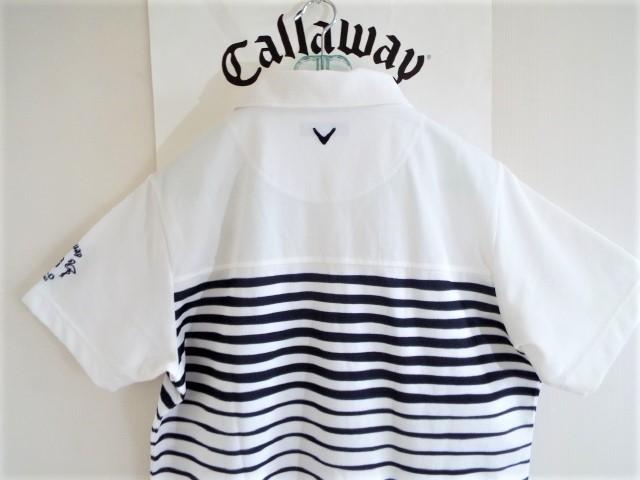 ★超美品★Callaway キャロウェイ / DSPD ボーダー プルオーバー シャツ DRY / サイズLL _画像4