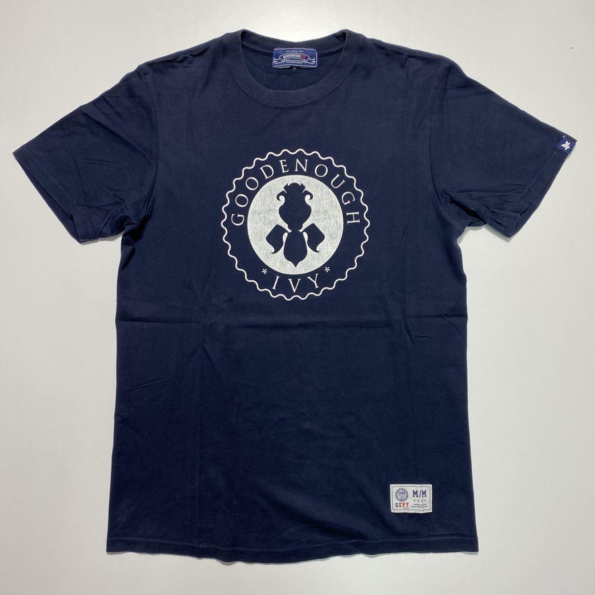 【M】GOODENOUGH IVY FRAGMENT DESIGN CIRCLE LOGO TEE グッドイナフ フラグメントデザイン アイビー サークル ロゴ Tシャツ G478_画像1
