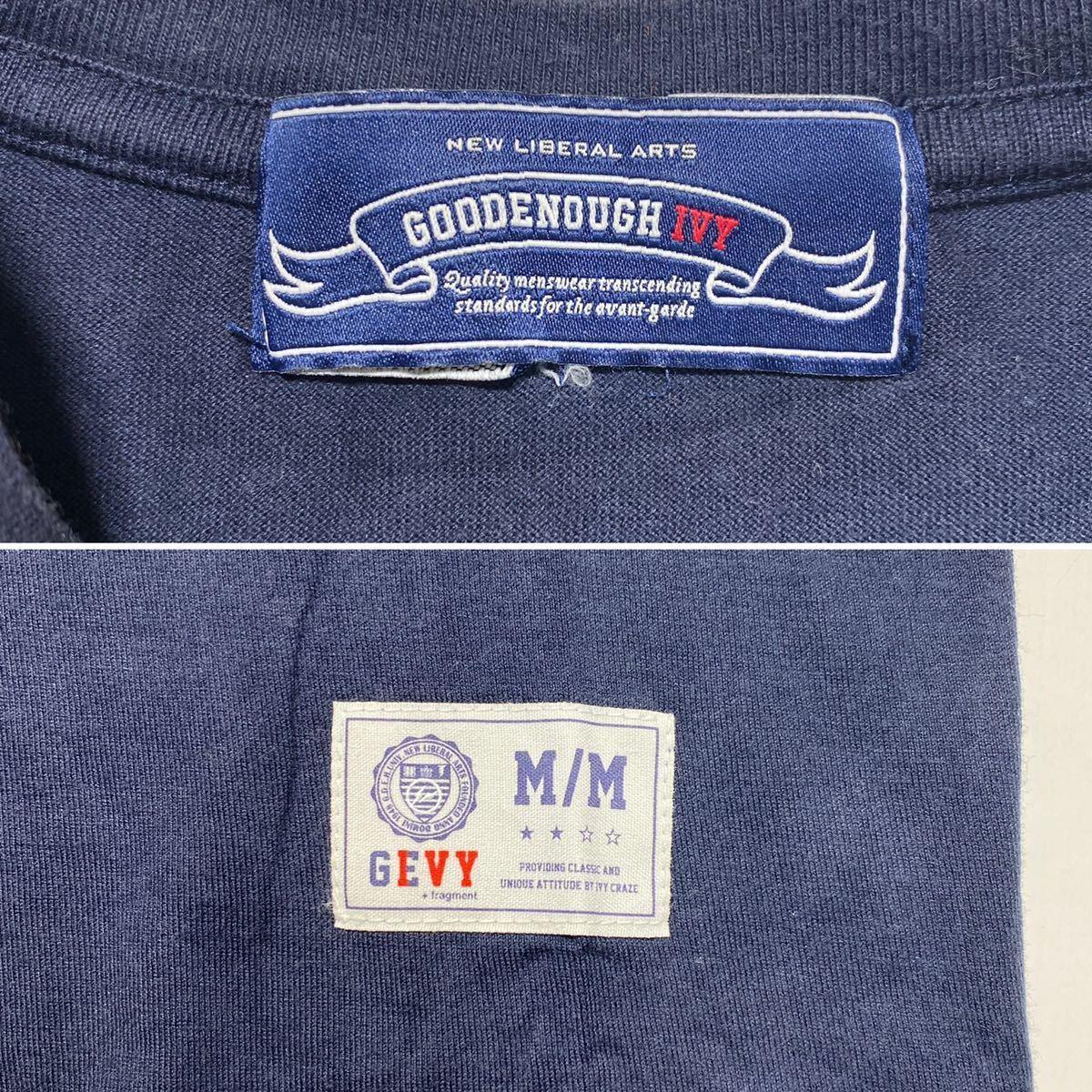 【M】GOODENOUGH IVY FRAGMENT DESIGN CIRCLE LOGO TEE グッドイナフ フラグメントデザイン アイビー サークル ロゴ Tシャツ G478_画像6