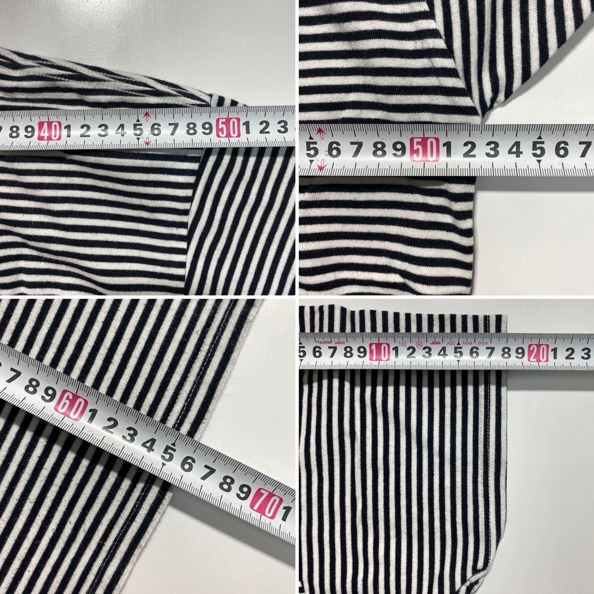 【2】uniform experiment Fragment design Border Tee ユニフォーム エクスペリメント フラグメントデザイン ボーダー Tシャツ G484_画像8