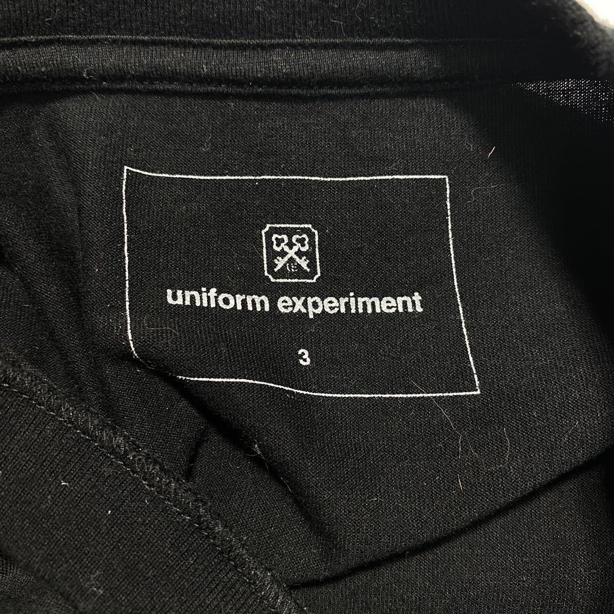 【3】uniform experiment Fragment design Tee ユニフォーム エクスペリメント フラグメントデザイン Tシャツ ブラック G485_画像5
