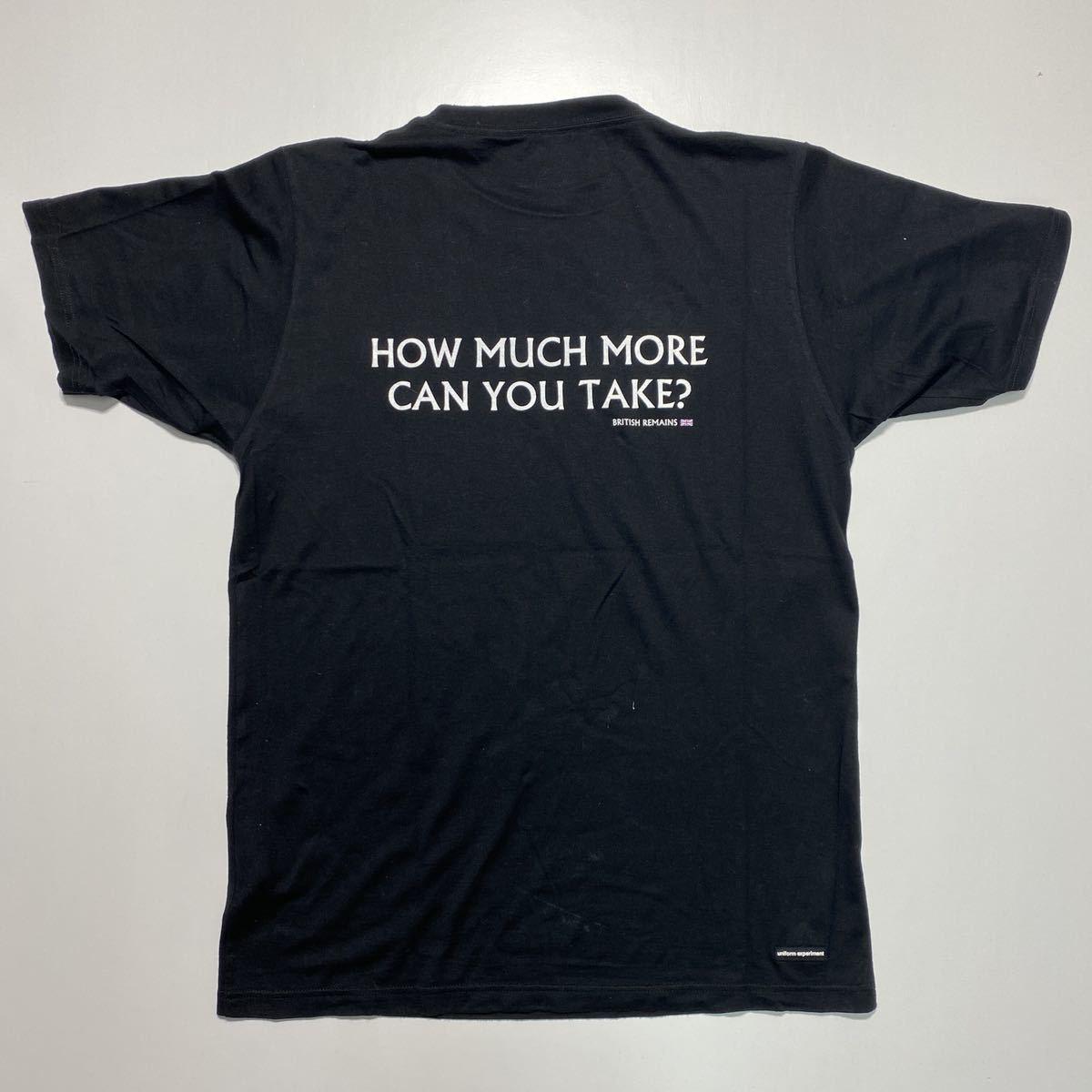 【3】uniform experiment Fragment design Tee ユニフォーム エクスペリメント フラグメントデザイン Tシャツ ブラック G485_画像2
