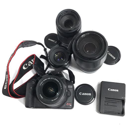 1円 Canon EOS Kiss X3 デジタル一眼 カメラ ボディ EF-S 18-55mm 1:3.5-5.6 IS 55-250mm 1:4-5.6 含 まとめ セット