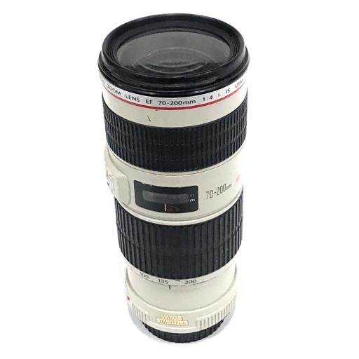 1円 Canon ZOOM LENS EF 70-200mm 1:4 L IS USM オートフォーカス カメラ レンズ キャノン