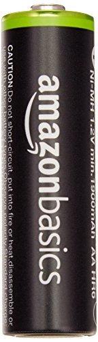 ★2時間セール価格★ベーシック 充電池 充電式ニッケル水素電池 単3形8個セット (最小容量1900mAh、約1000回使用可能_画像2