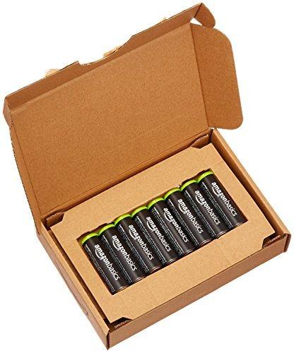 ★2時間セール価格★ベーシック 充電池 充電式ニッケル水素電池 単3形8個セット (最小容量1900mAh、約1000回使用可能_画像4