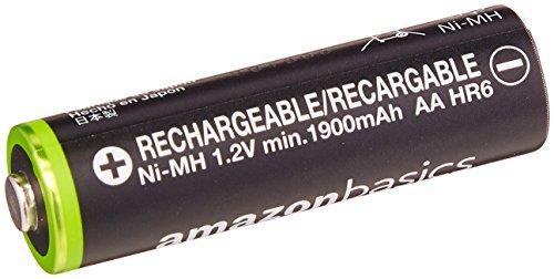★2時間セール価格★ベーシック 充電池 充電式ニッケル水素電池 単3形8個セット (最小容量1900mAh、約1000回使用可能_画像3