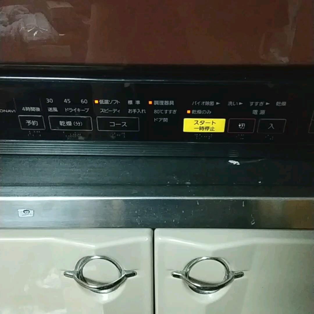 ジャンク品 Panasonic NP-TR8 食器洗い乾燥機